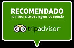 Somos recomendados no TripAdvisor